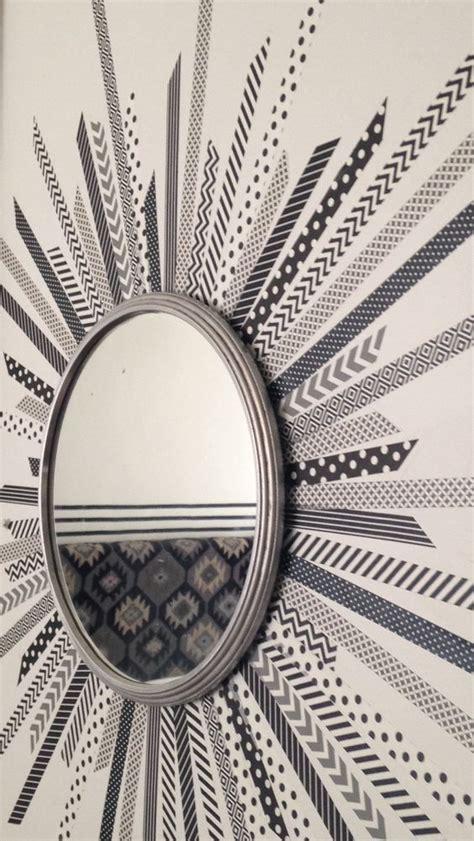 diy washi tape wall art ideas