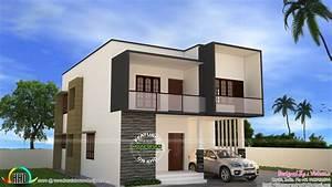 Simple modern house by Vishnu S - Home Design Decor