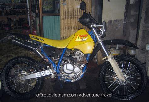Suzuki 250cc Bike by Suzuki Dr 250cc Rental In Hanoi Offroad Bike Rental