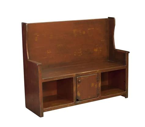 Storage Furniture Bench by Amish Primitive Furniture Storage Bench Seat Entry Wooden