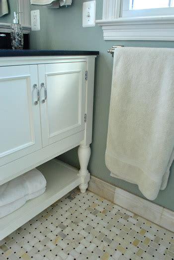 marble basketweave tile bathroom house crashing crisp classic young house love
