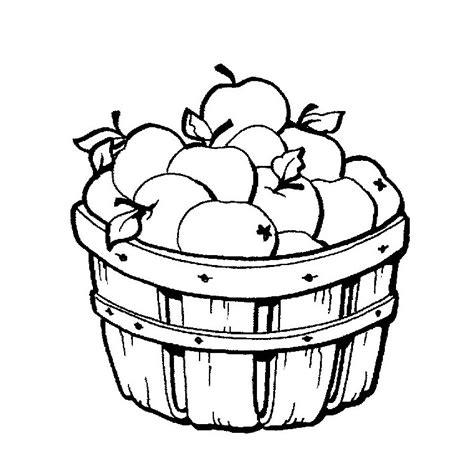 cuisine tv free coloriage panier de pommes a imprimer gratuit