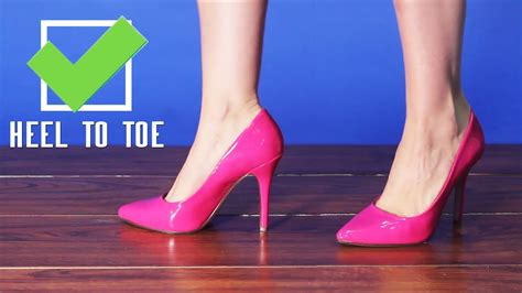 How To Walk In Pointy High Heels Tutorial From Amiclubwear