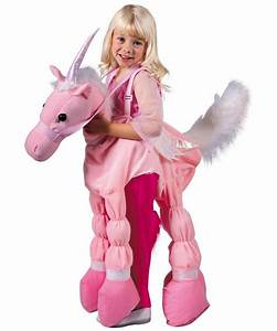 Pink Ride A Unicorn Costume - Kids Halloween Costumes