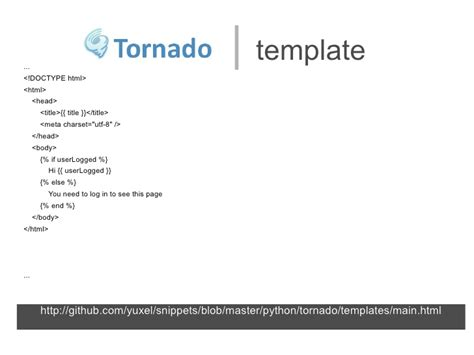 Tornadoweb Template by Tornadoweb