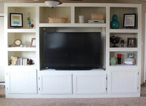 diy built in entertainment center remodelaholic living room renovation with diy 8747