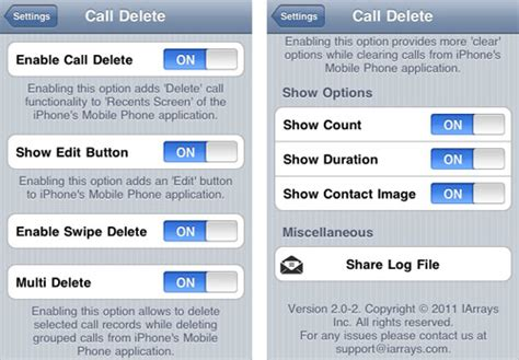 iphone recent calls settings get ios 5 features now delete individual recent calls