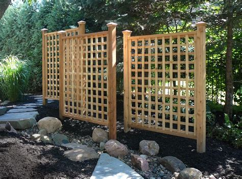 Outdoor Trellis Panels by Pergola Trellis Designs View Source More Cedar Trellis