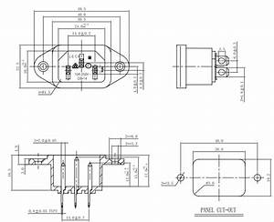 3 Pins Iec Connectors  U0026 Nema Receptacles Power Socket