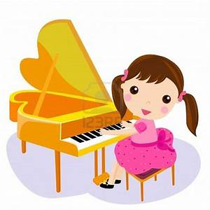 Playing the piano   My Hungry Tummy