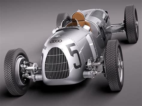 Auto Union Type C Race Car Replica 3d Printed By Audi
