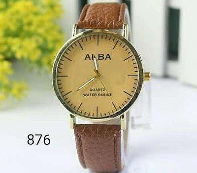jam tangan alba coklat gold jual beli jam tangan alba wanitapria jtr 876 coklat