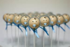 baby shower pacifiers baby boy cake pops