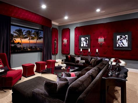 See more ideas about cinema, wall art, art. 11 Trendy Rooms with Tufted Wall Panels | Home theater ...