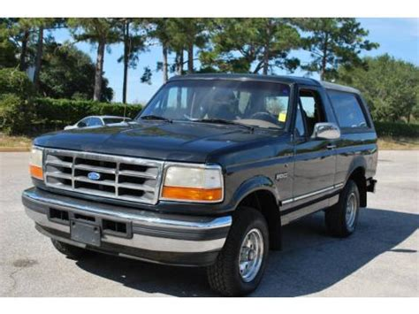 ford bronco xlt   sale stock va