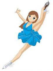 ice skaters clipart