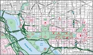 Printable Downtown Washington Dc Map