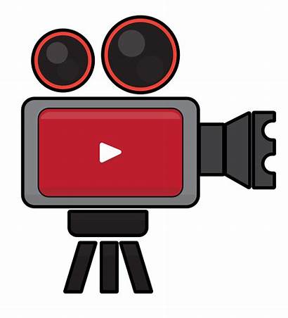 Clipart Streaming Icon Camera Cartoon Sharing Svg
