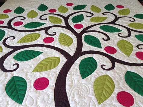 Applique Quilting by Tree Applique Quilt 171 Paley S Sewing