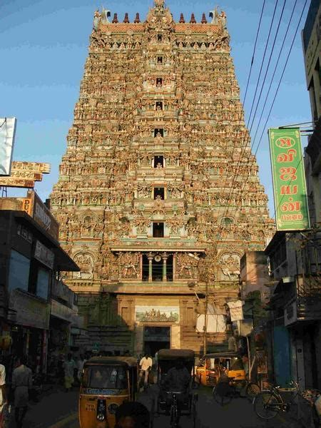 sri meenakshi temple madurai photo