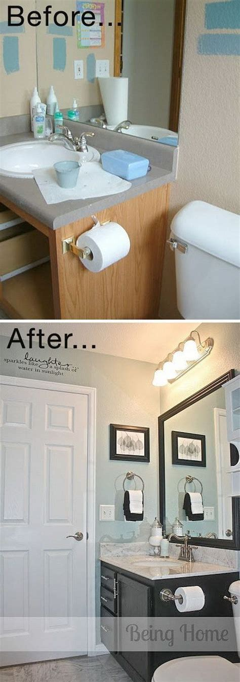Small Bathroom Makeovers Cheap by 25 Best Ideas About Cheap Bathroom Makeover On