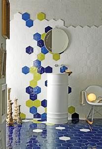 Carrelage Hexagonal Blanc : carrelage hexagonal les plus belles inspirations pour le ~ Premium-room.com Idées de Décoration