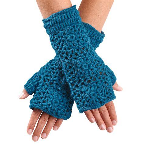 fingerless gloves crochet hand crocheted fingerless gloves ebay