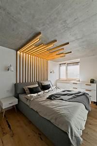Lit Design Bois : 100 id es pour fabriquer une t te de lit en bois qui transformera votre chambre obsigen ~ Teatrodelosmanantiales.com Idées de Décoration