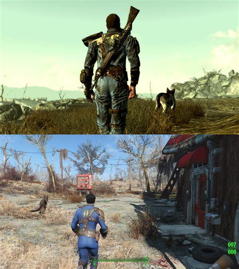 Fallout Screenshot Comparison Shows Massive
