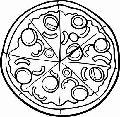 Coloring Pages Pizza Printable