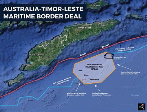 Timor Leste And Australia Sign Historic Maritime Border