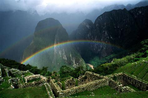 Rainbow on Mountain HD Image | HD Wallpapers