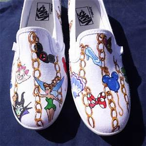 custom painted shoes based on disney from seriouslysavage With letter carrier shoes