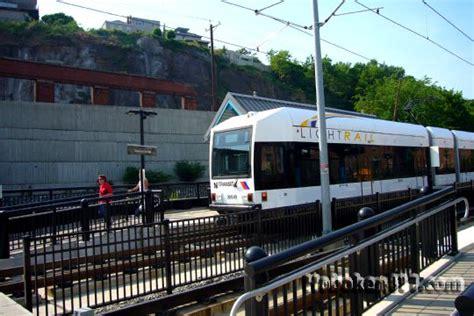 new jersey light rail nj transit light rail hoboken nj