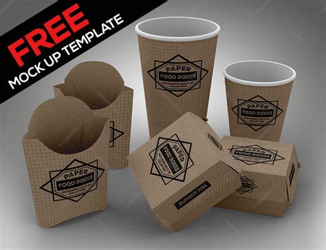 Download our high quality free and premium professional and useful psd and png mockups for your branding and design. Free Fast Food Box Mockup | Paisagismo jardim, Dicas