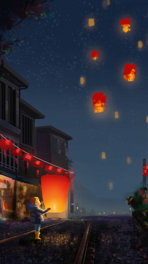 wallpaper chinese  year lantern festival