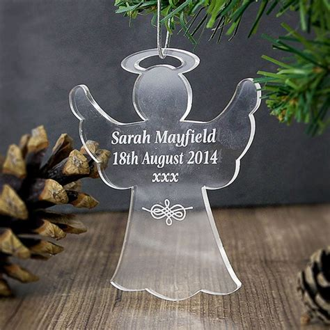 acrylic angel decoration find me a gift