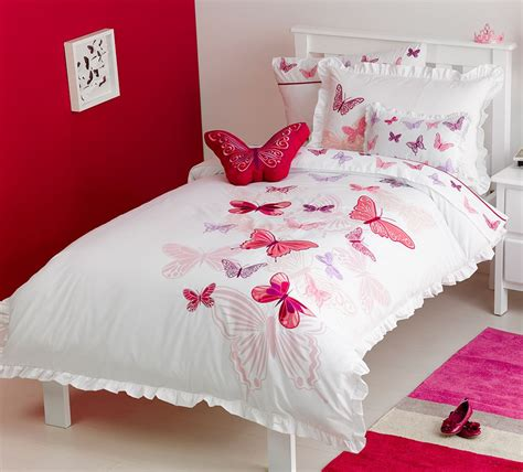 Fly Butterfly Quilt Cover Set  Kids Bedding Dreams
