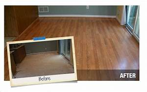 Laminate flooring installation at the home depot for Flooring specialist home depot