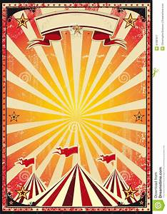 Red Circus Retro Stock Vector - Image: 41087877