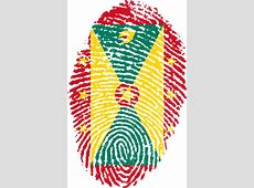 Grenada Flag Fingerprint · Free image on Pixabay