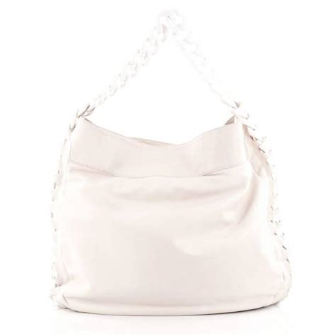 chanel resin modern chain hobo calfskin large  sale