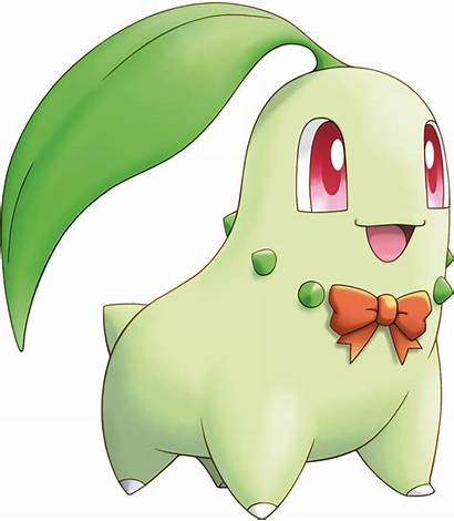 Pokemon Mystery Clipart Chikorita Transparent Icon Without