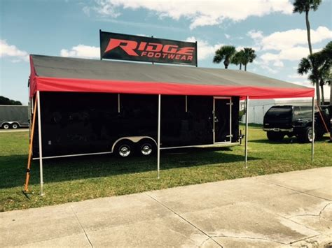race trailer awning dmp awnings canopy awning canopies for in