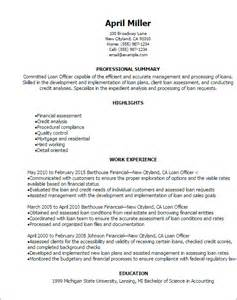 mortgage originator resume templates professional loan officer resume templates to showcase your talent myperfectresume