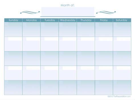 monthly calendar editable form  editable calendar
