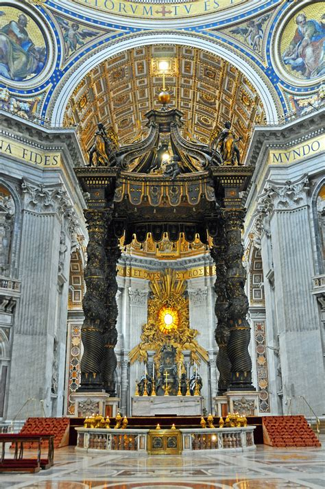 Baldacchino By Bernini by Italy 3266 The Baldacchino No Multi