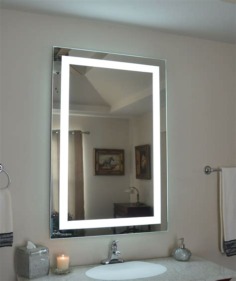 mam83248 32 quot w x 48 quot t lighted vanity mirror wall