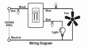 i am connecting a ceiling fan with the hunter 27182 light With hunter ceiling wiring diagram on how to install ceiling fan installing