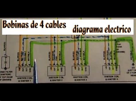 lectura de diagrama de encendido electronico bobinas
